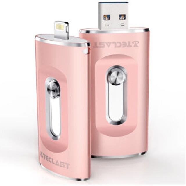 For Lightning Port i-Flash Dual Plug USB 3.0 Flash Drive 32GB 64GB 128GB for iPhone/iPad/iPod IOS7.0 Pen Drive U Disk for PC