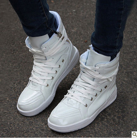5d654704 Hot sale fashion high shoes men hip-hop shoes, warm boots child in casual  shoes high state board