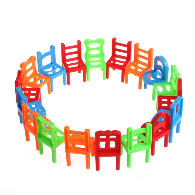 unids escritorio sillas apilables de equilibrio juguete educativo para los nios jugar juego de escritorio