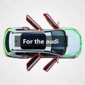 Защитная лента для автомобильных дверей audi Q3/Q5/SQ5/Q7, Модифицированная звукоизоляция, шумоподавление, защита от пыли и ветра