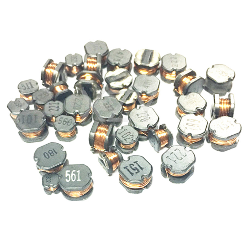 50pcs/lot SMD Power <font><b>Inductor</b></font> CD32 CD43 CD54 CD75 10uH 22uH 33uH 47uH <font><b>100uH</b></font> 470uH 100 220 330 470 101 471 5mm 5.2x4.5mm image