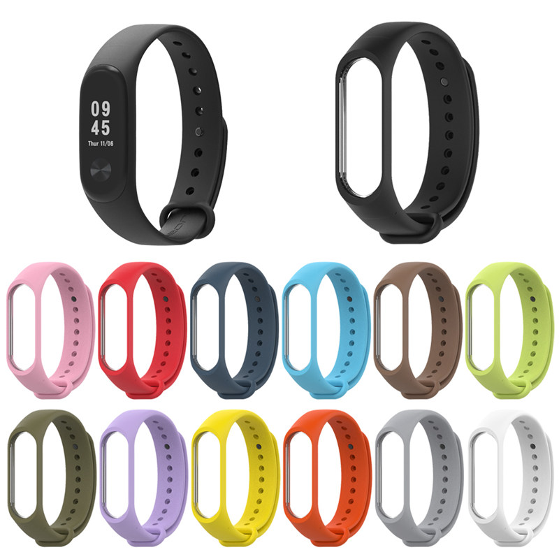 Bracelet For Xiaomi Mi Band 4 3 Sport Strap Silicone Wrist Strap For Miband 3 Smart Accessories Miband 4 Correa Mi Band3 Band4