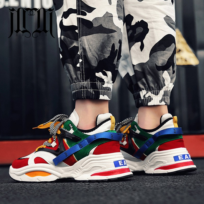 MUMUELI Mixed Colour 2019 Designer Casual Breathable Shoes Men High Quality Fashion Luxury Flat Ultra Boost Brand Sneakers G890 zapatillas de moda 2019 hombre