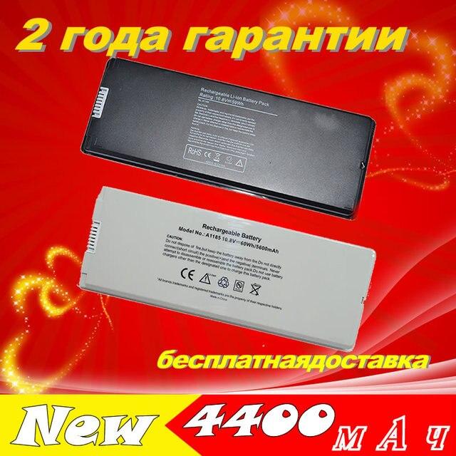 """JIGU White 55Wh Battery for Apple MacBook 13"""" A1185 A1181 MA561 MA561FE/A MA561G/A MA254 10.8V"""