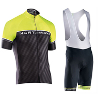 Northwave Summer Cycling Jersey Set Breathable MTB Bicycle Cycling Clothing Mountain Bike Wear Clothes Maillot Ropa Ciclismo