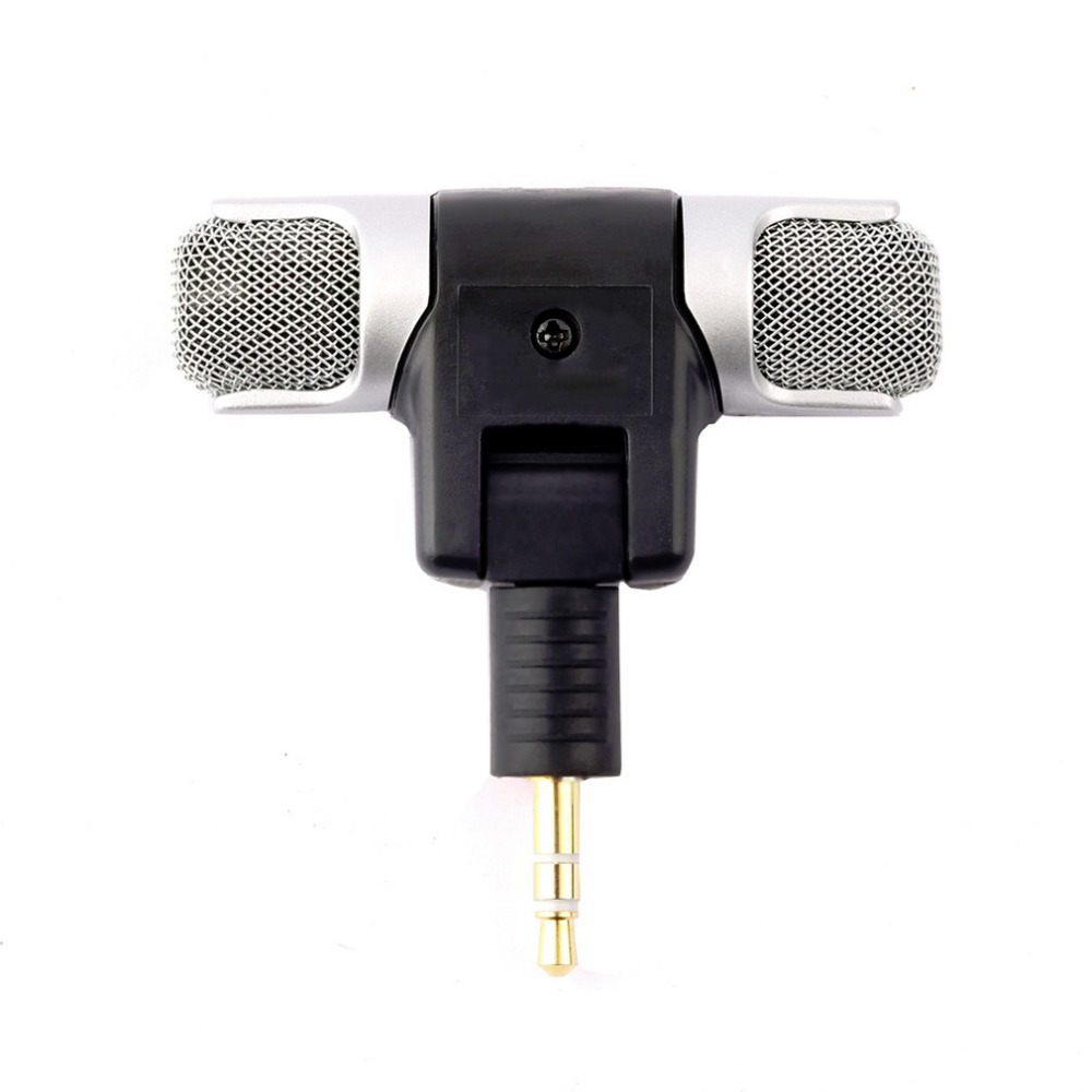 Jack Flexible Microphone For Computer Laptop Notebook Portable Wired Accessories