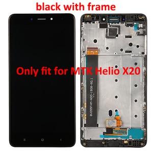 Image 4 - Pantalla LCD para Xiaomi Redmi Note 4, pantalla táctil con Marco, 5,5 pulgadas, MTK Helio X20