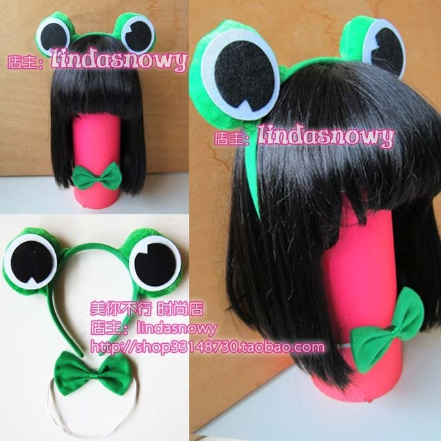 Cos props animal piece set hair accessory headband hair bands ear frog