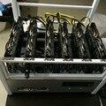 120 M/S ETH mineiro Ethereum Traço/DarkCoin X11 Multifuncional minério de chip R9 470 cartão de 4G * 6 com 1300 W PSU frete grátis enviar DHL
