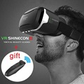 Hot! Virtual Reality VR shinecon ii 2.0 Glasses Google Cardboard Pro Version VR Glasses+Smart Bluetooth Remote Control Gamepad