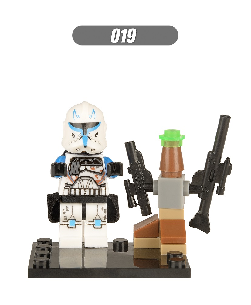 Super Heroes Captain Rex Dolls Star Wars The Force Awakens Captain America Building Blocks Education Toys for children XH 019 lecgos building blocks super heroes star wars x wing fighter millennium falcon the force awakens compatible with lecgos