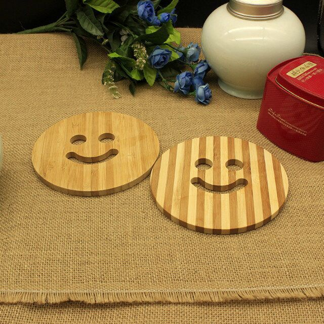 10pcs Set Wooden Dining Table Mat