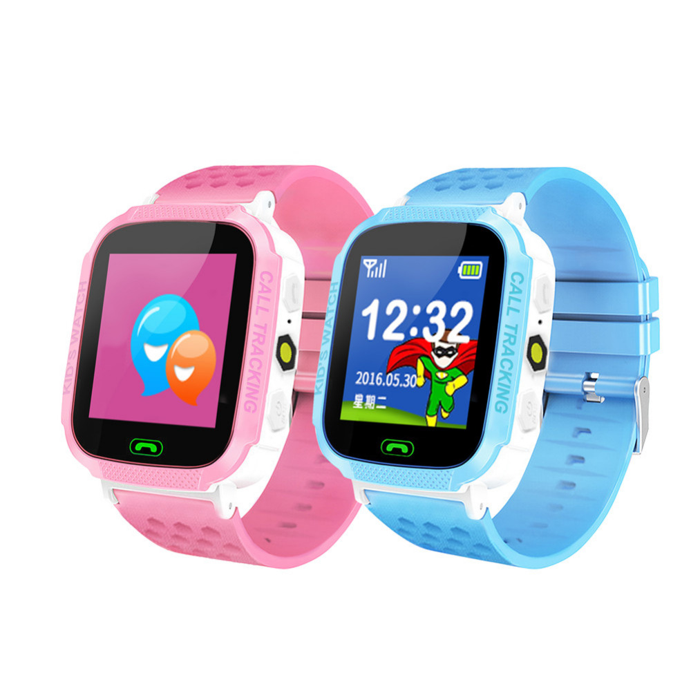 2018 New Child Smart Watch colorful Call  Forbidden During Class Voice Chat Color Touch Screen Positioning Watch