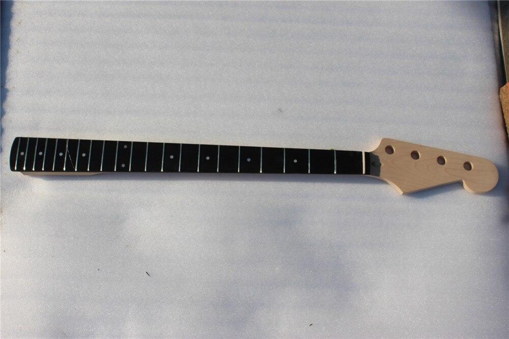One 4 cordes guitare basse électrique cou acajou fait et touche en bois rose 261 #
