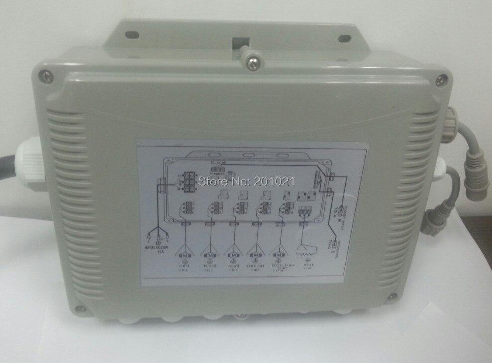 GD7005 boîte de commande principale que la principale puissance va dans
