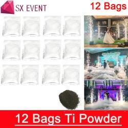 12 пакета(ов) ков Бесплатная доставка Ti порошок для электроэрозионный станок сценический эффект расходные материалы холодный фонтан