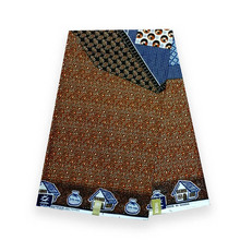 лучшая цена high quality veritable dutch real breathable wax african wax printed fabric 100% cotton real dutch breathable clothing V-L 014