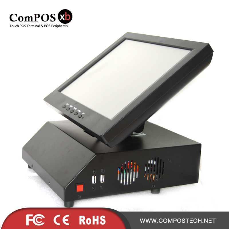 Free shipping 12 inch pos system touch cash register all in one pc cheapest POS PC все цены