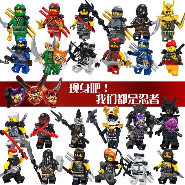 Cobra Cole Jay Kai Zane Ninja Harumi Ultra Violeta Hutchins Chopper Kit Cobra Dom Blocos de Construção de Brinquedos para Crianças