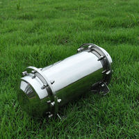New Stainless Steel Time Capsule Waterproof Container Storage Future Gift Buri