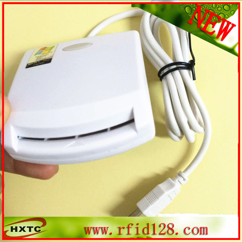 Contact Smart IC Card Reader Writer PC/SC USB - CCID EMV ISO7816 free shipping yongkaida best quality acr39 u uf pc sc ccid iso 7816 emv certified contact ic chip smart card reader