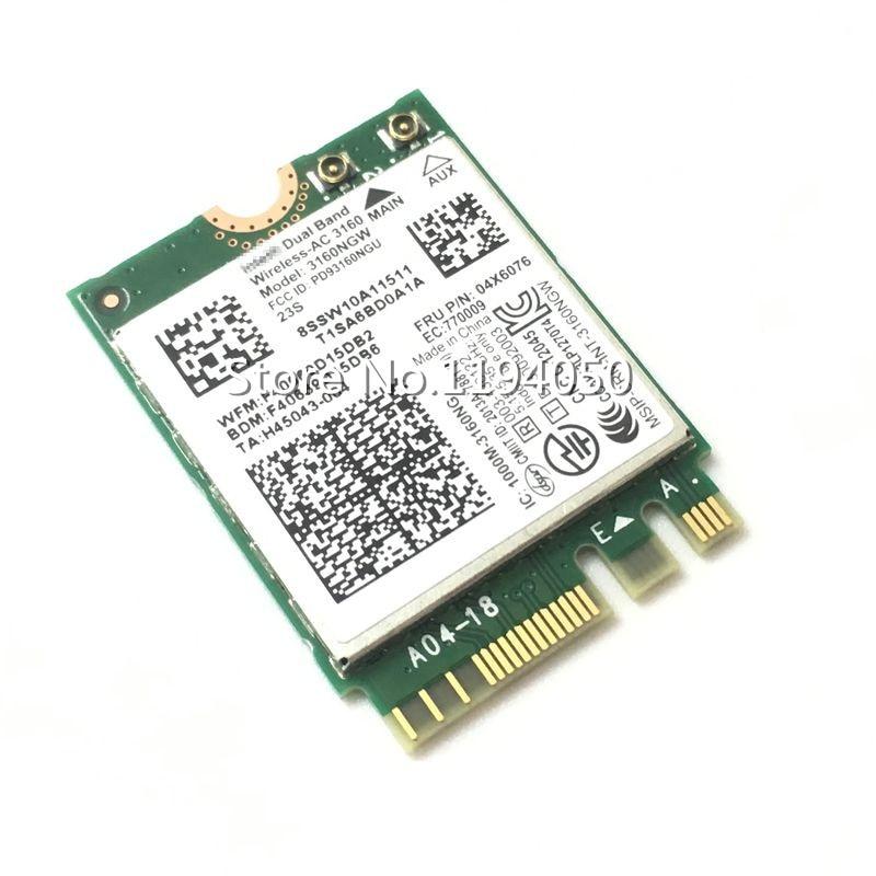 Y50-70 Touch B40-70 Y50-80 Touch Wireless LAN Card for Lenovo Y40-70 Y40-80 E10-30 B40-30 B40-80 Laptop Compatible 04x6034 B40-45 Y50-70 Y50-80