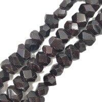 Liiji فريد الحجر الطبيعي العقيق الأوجه فضفاض الخرز appprox 12x15 ملليمتر ل diy مجوهرات جعل حوالي 39 سنتيمتر