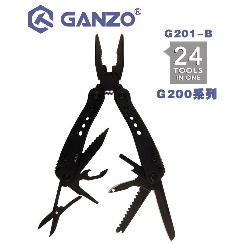 Handwerkzeuge Sporting Ganzo G200 Serie G201-b Multi Zangen 24 Werkzeuge In Einem Hand Tool Set Schraubendreher Kit Portable Faltung Messer Edelstahl Zange Nachfrage üBer Dem Angebot