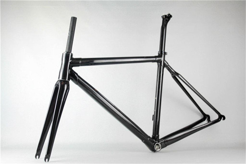 Light weight chinese carbon frames round shaped road bike frame ...