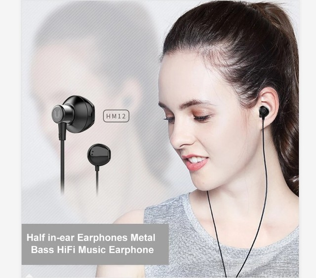 UiiSii In-ear Noise Reduction Super Bass Subwoofer Earphone Game Chicken with Microphone Metal 3.5mm for iPhone Samsung 1