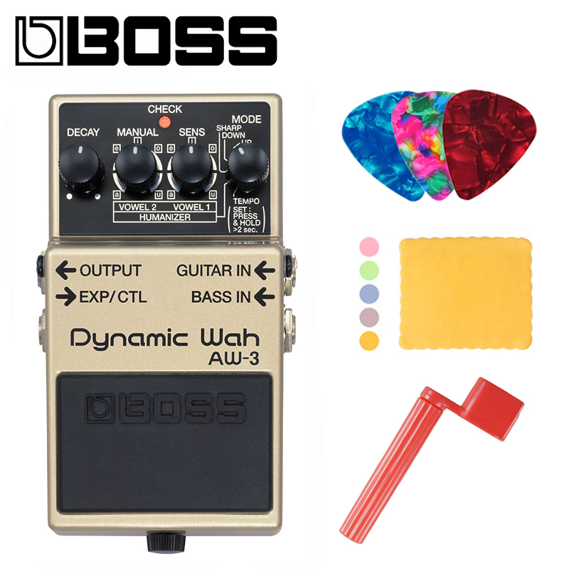 buy boss aw 3 dynamic wah pedal for guitar or bass with tempo control. Black Bedroom Furniture Sets. Home Design Ideas