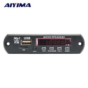 Image 1 - AIYIMA 2,0 Kanal Bluetooth Verstärker Bord Stereo 10W * 2 MP3 Decoder Unterstützung FM APE MP3 WAV WMA USB soundkarte APP 12V