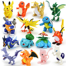 7.5-12cm Pokeball Figures Cute Mini Pikachu Figures Monster Model Toys Random Brinquedos Collection Anime Kids Toys 1 1 anime pokemon pokeball random action figure game model kaiwaii pikachu doll birthday gift children kids collection pet toys