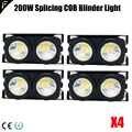 Планка 2 свет светодиодный Козырьки с 100 Вт светодиодный COB x2 янтарный + холодный белый Цвет для аудитории, Цвет теплый