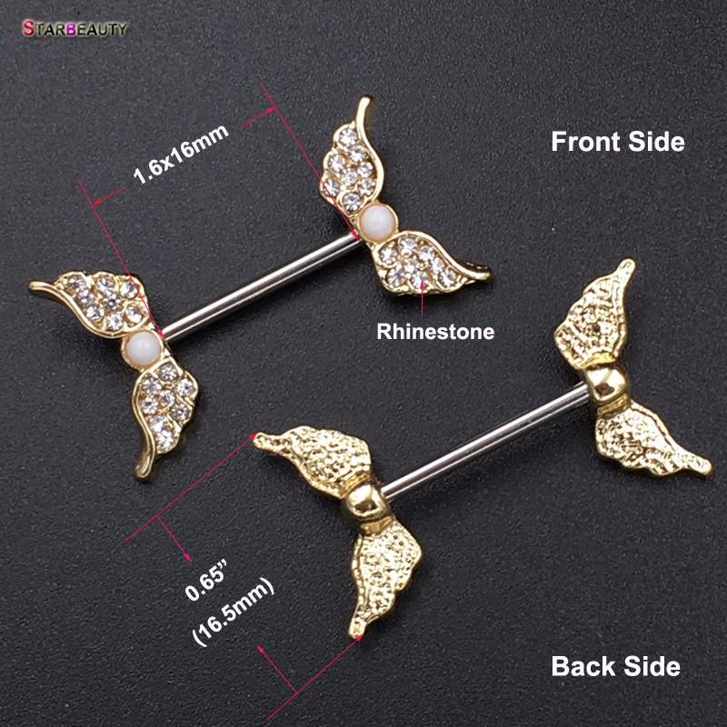 HTB1kj.6OVXXXXc_aXXXq6xXFXXXU Starbeauty 2pcs/lot Angel Wing Nipple Piercing Mamilo Sexy Women Nipple Ring Body Jewelry Cute Fake Nipple Cover Pircing Gift