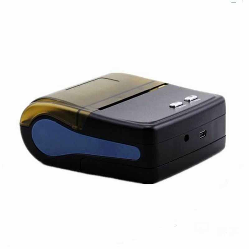 Free shipping 58mm Mini Thermal Receipt Printer for android 4.2.2 Bluetooth printer Wireless Mobile coffee printer mht 8001 wireless thermal printer with battery android and ios system bluetooth mobile thermal printer