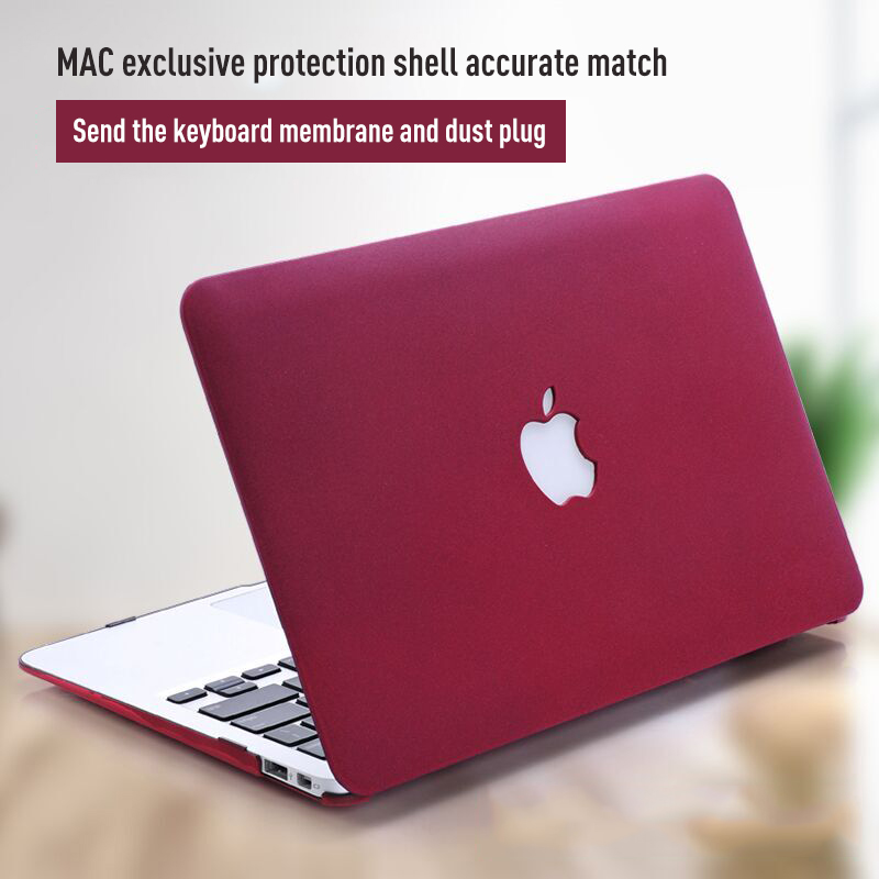 MAC cover 11 13 15 Pro Retina 15 full protective case For Apple Macbook Air 13 15 inch Macbook pro 12 Shell Laptop Sleeve Case