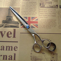 7 Japan imported excellent quality professional hair cutting & thinning scissors shears 7.0 inch Japanese 440C styling tools