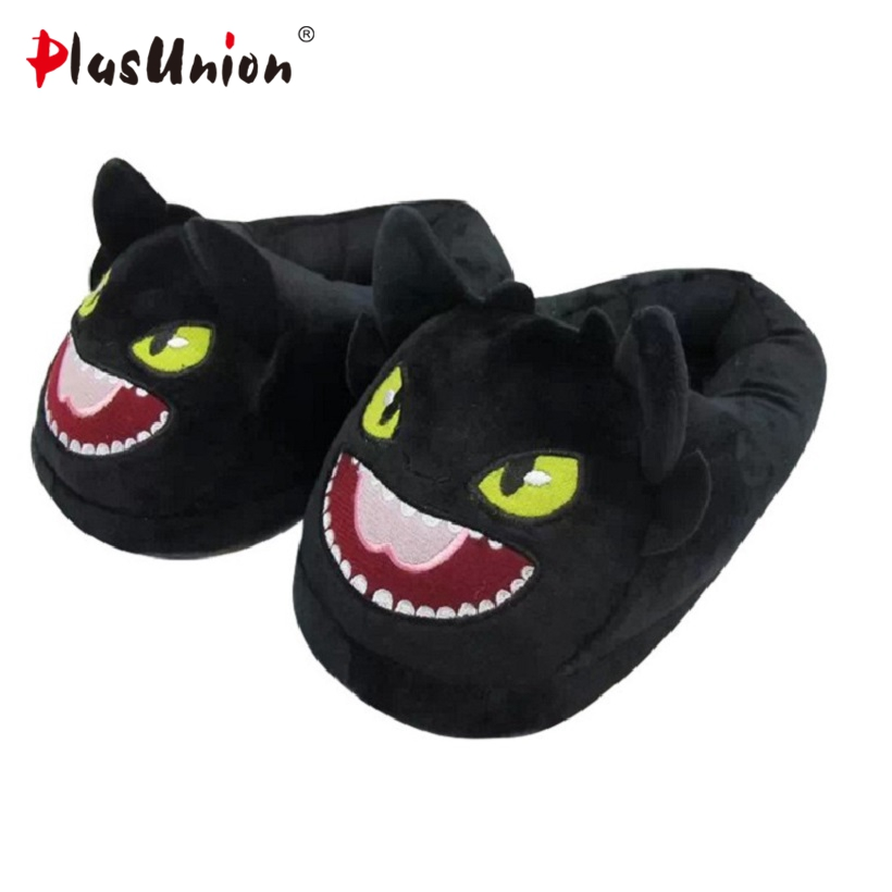 cartoon winter warm indoor furry slippers adult unisex emoji animal black plush shoes rihanna slipper fuzzy house anime home indoor winter panda slippers flat furry home cartoon animal with fur shoes fuzzy house women emoji plush anime unisex cosplay