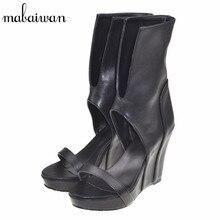 2017 New Fashion Punk Women Gladiator Sandals Platform Pumps Slip On Summer Boots Wedge Shoes Woman Wedges Sandalias Mujer
