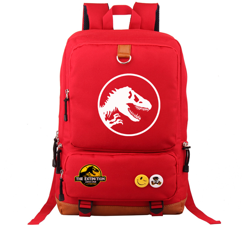 9 Type Animals World Schoolbag Jurassic Pattern Kids Backpack Children Gift For Boys/Child Dinosaur Pattern Travel BookBag