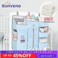 Sunveno Portable Bayi Tempat Tidur Organizer Tempat Tidur Gantung Tas untuk Bayi Penting Popok Penyimpanan Cradle Tas Set Tempat Tidur