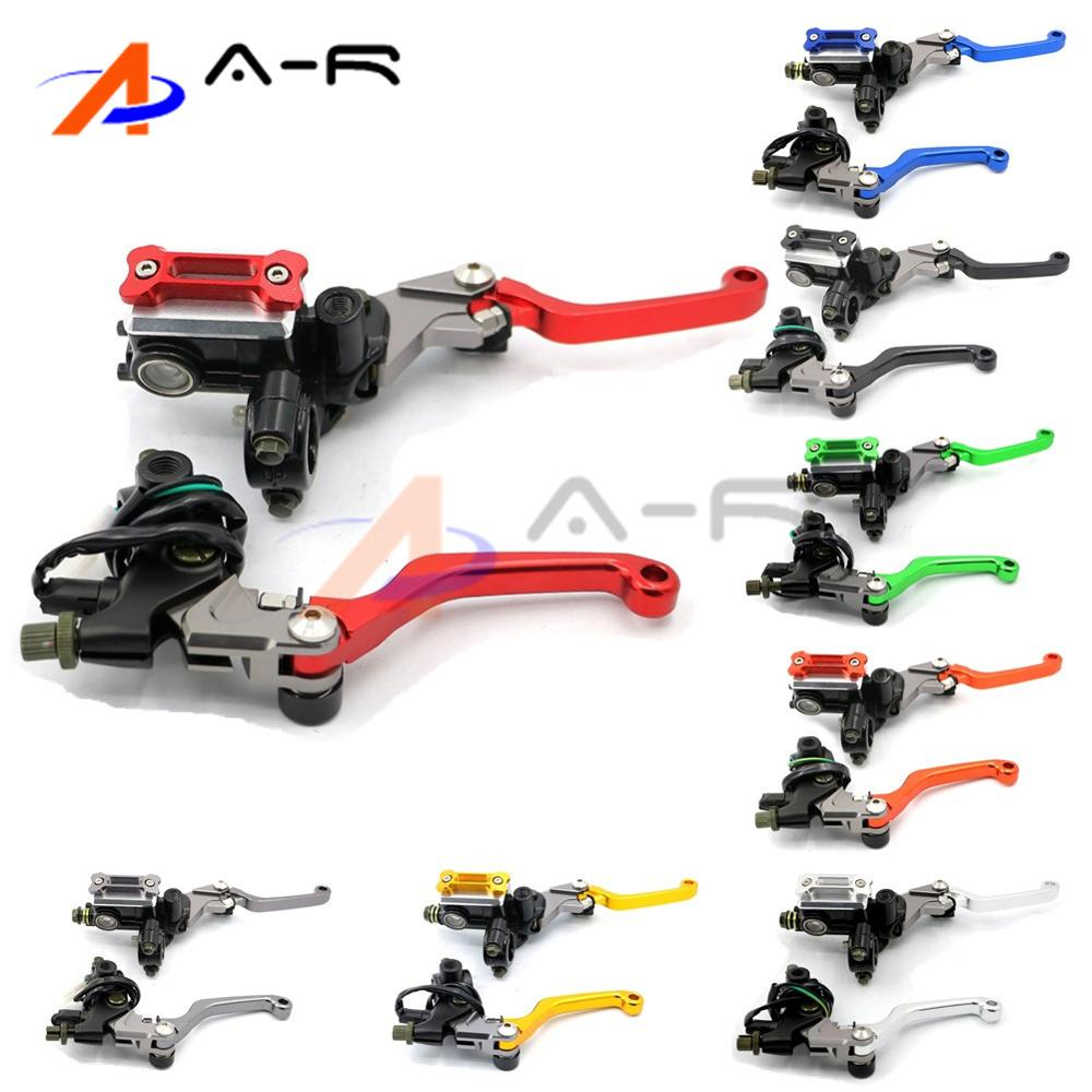 Brake Clutch Levers Cylinder Master Hydraulic for Dual sport Off road Aprilia SXV RXV 5 5