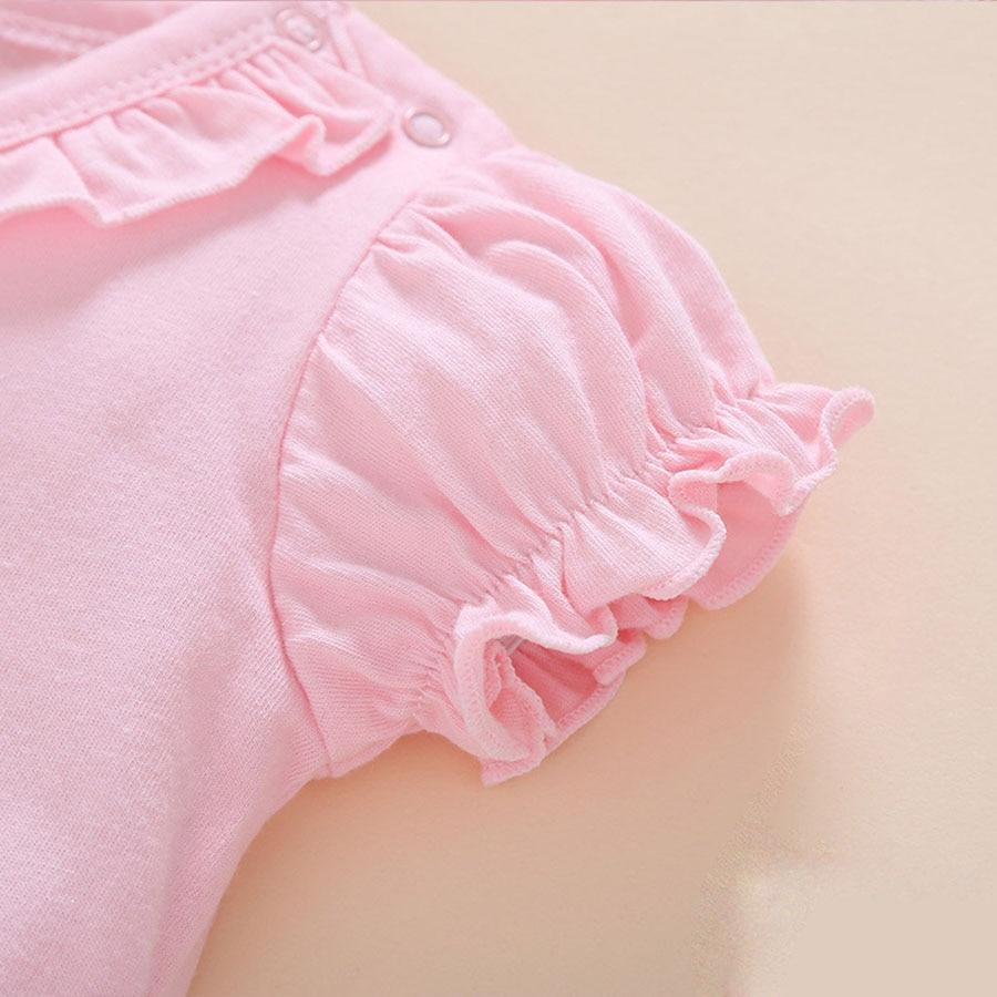 Summer Style Baby Rompers Dziewczyny Ubrania Bawełniane Hello Kitty - Odzież dla niemowląt - Zdjęcie 2