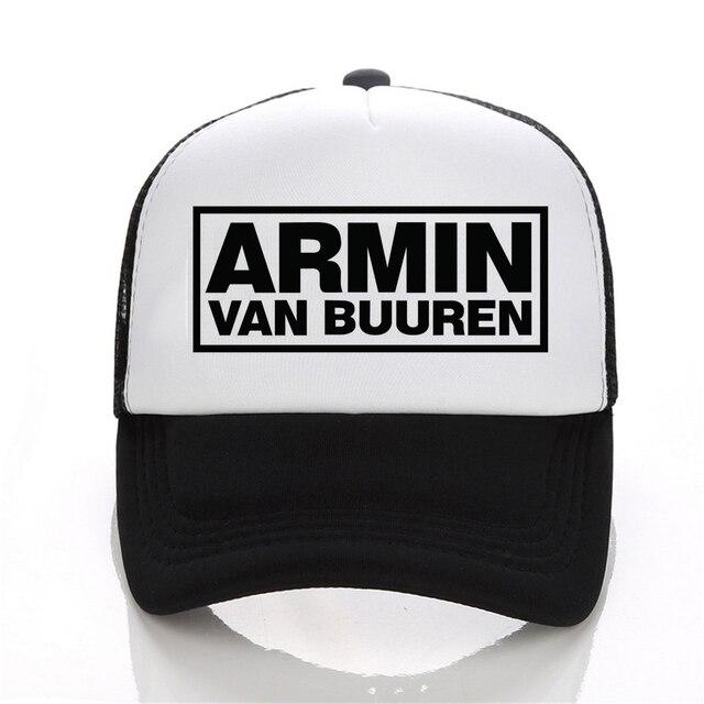 Armin Van Buuren juntos en un estado de trance letra Cap popular música dj  gorra de 4b44cc0f9e2