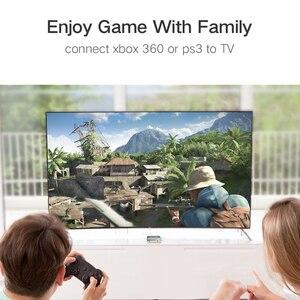 Image 4 - HDMI كابل الذكور إلى الذكور محول عال السرعة 3D 4K 1080P ل تلفاز LCD PS3 كمبيوتر محمول كابل 10M 1M 2M 3M