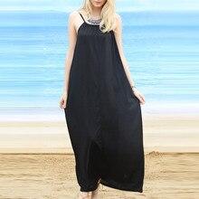 2017 Playa Pareo traje de Baño Sólido Sin Tirantes Elegante Básica Beach Cover Up Praia Saida De Praia Beachwear Negro Cabo Swimsuit Vestiodos