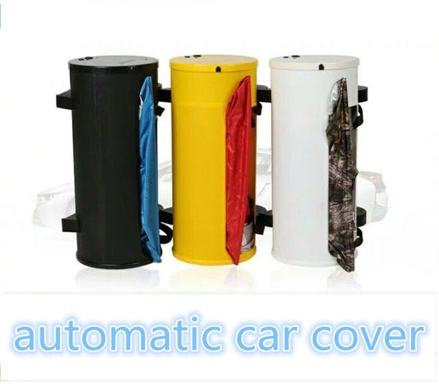 Semi automatic car cover,smart remote control ,polyester taffeta210T material,automatic exterior accessories