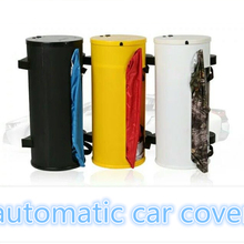 ATL Semi-automatic car cover,Smart Remote Control, Polyester Taffeta 210Material, Rainproof Sunshade And Snow Defence