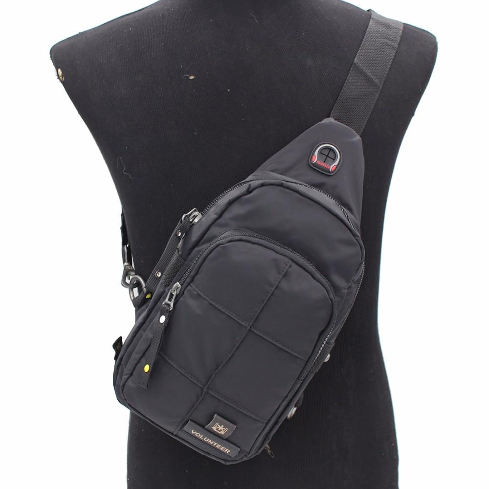 Мужской рюкзак из ткани Оксфорд, дизайнерская нагрудная Сумка слинг через плечо, повседневный Водонепроницаемый ранец|Рюкзаки| | АлиЭкспресс